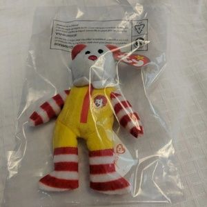 Ronald McDonald The Bear TY Beanie 2004